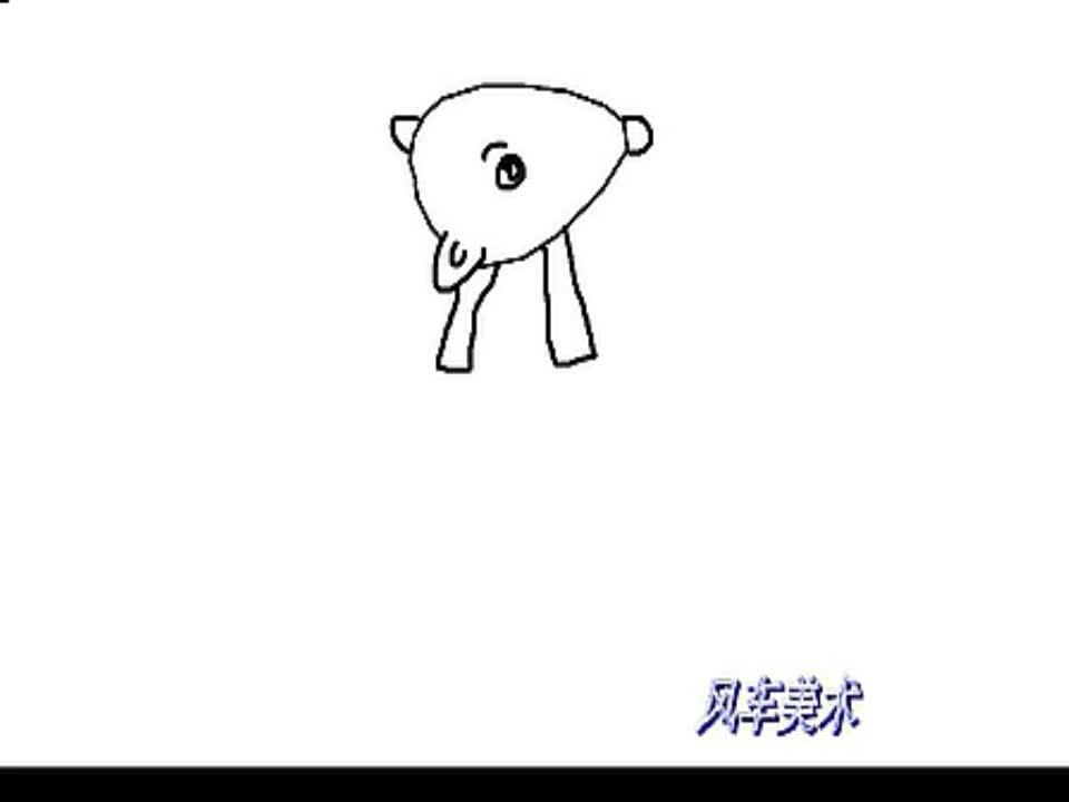 简笔画小老鼠的画法-游戏视频