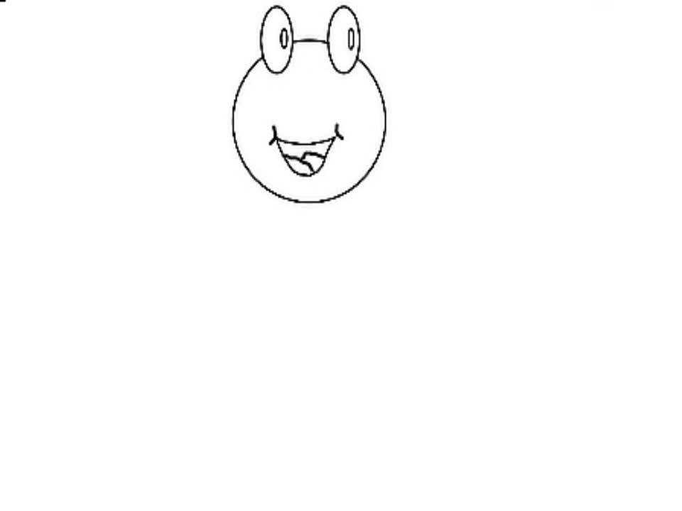 超清观看 简笔画小青蛙的画法-游戏视频