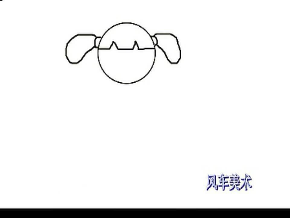 云的简笔画画内容图片展示