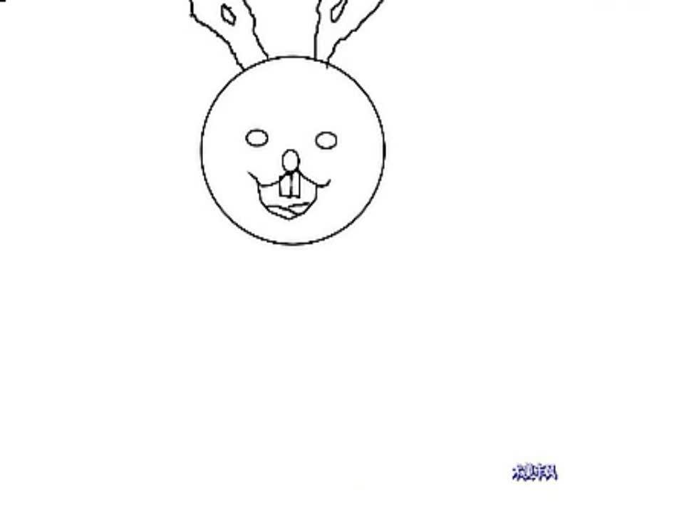 简笔画小兔和大海的画法-游戏视频