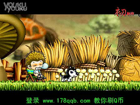 """冒险岛v072武陵道场""""功夫熊猫""""预告片-游戏"""