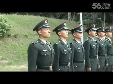 部队生活之军姿对列训练-军人