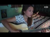 视频: 美女吉他弹唱 张学友《我真的受伤了》