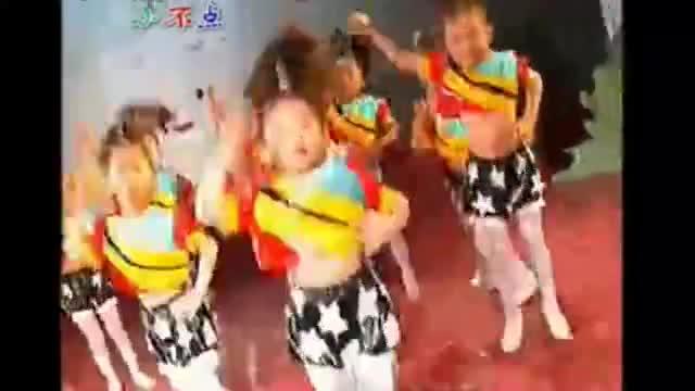 儿童舞蹈-加油歌舞蹈视频现代舞-游戏视频