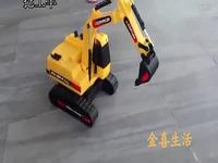 挖掘机 声光挖土机履带式挖掘机大型儿童工程