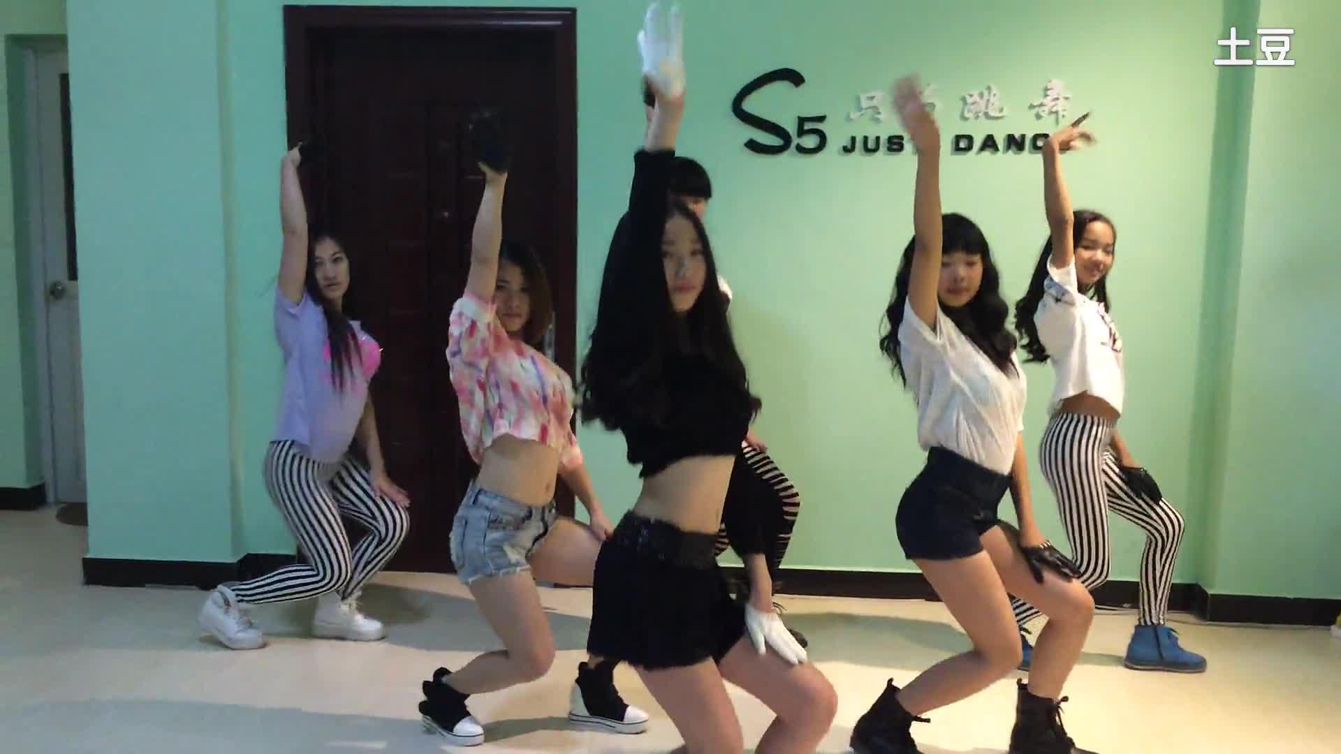 超简单易学爵士舞蹈的教学视频