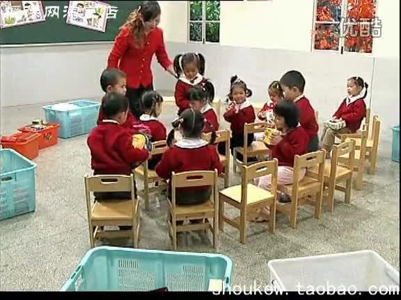上海幼儿园优质课 中班美术