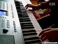 kb280电子琴演奏《天路》20140216