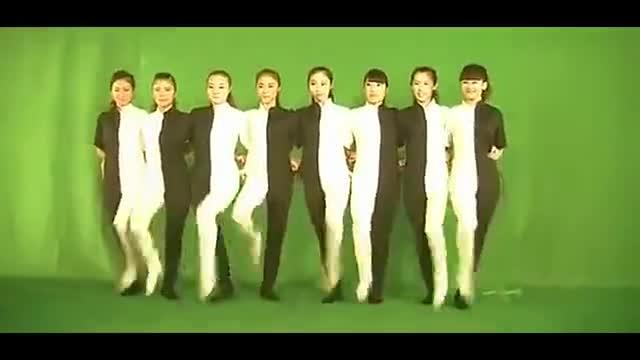 超清视频 晚会年会创意节目黑白腿 创意舞蹈年会舞蹈(1)-游戏视频