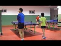 山东省队 乒乓球双打 单打 训练比赛(地点:省乒