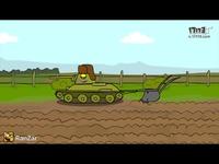 世界 坦克/坦克世界动画小短片18...