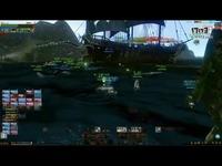 海战激情对轰 挑战巨型世界BOSS章鱼