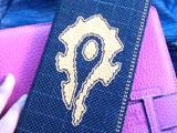 国服巧手妹子纯手工打造魔兽部落标记十字绣