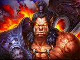 玩家绘画:霸气逼人的格罗姆·地狱咆哮