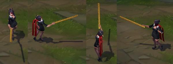 lol-英雄联盟 版本 正文  在今日测试服中,重做后的剑姬模型再次进行