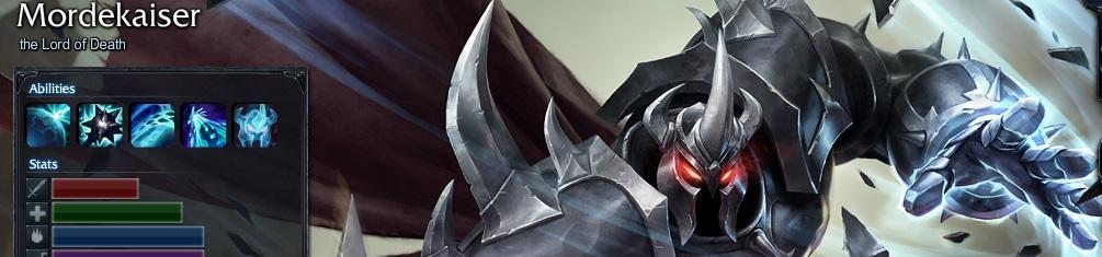 lol-英雄联盟 版本 正文  凶恶的亡灵莫德凯撒,是暗影岛中最恐怖最遭