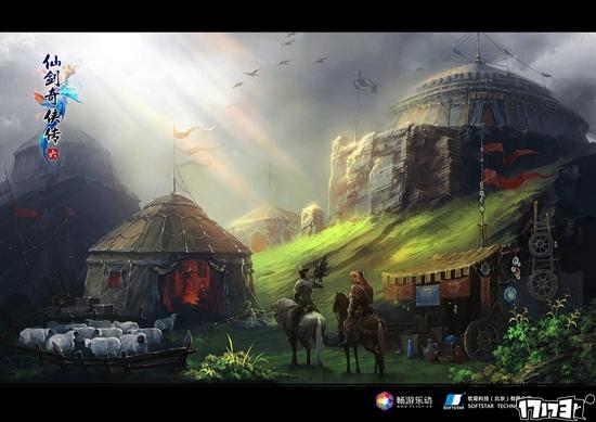 异域风光 《仙剑6》三神秘场景惊艳曝光