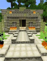 《我的世界》模仿《孤岛惊魂3》游戏截图