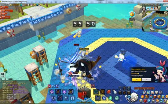 《冒险岛2》50级副本攻略-废弃的水上乐园