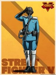 街霸5官方人物图鉴汉化NO.134  Shadaloo 下级兵
