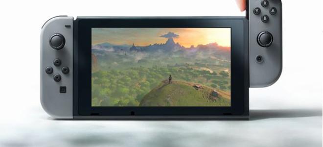 任天堂NX新主机Switch公布 2017年3月发售