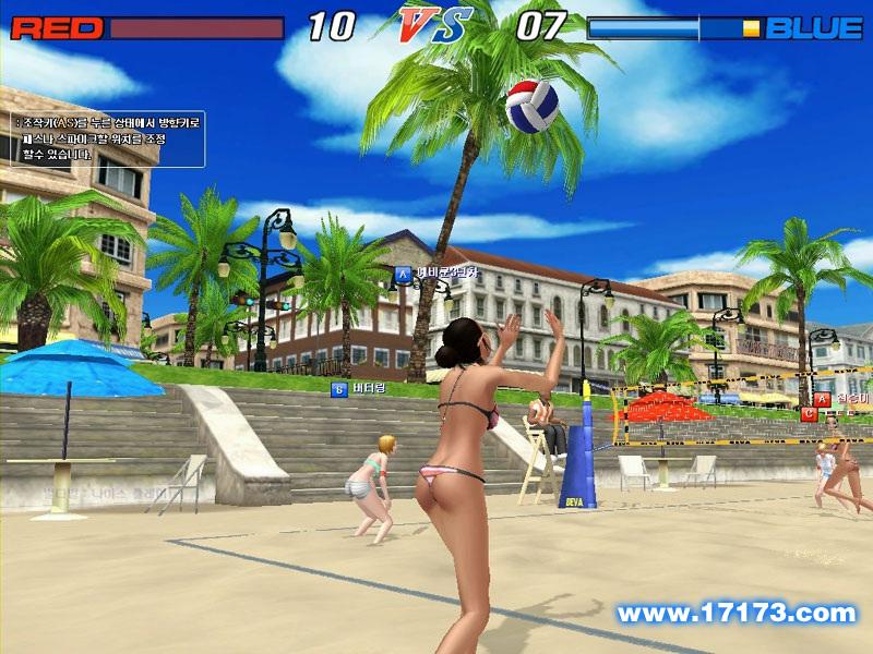 沙滩排球ol_沙滩排球游戏截图