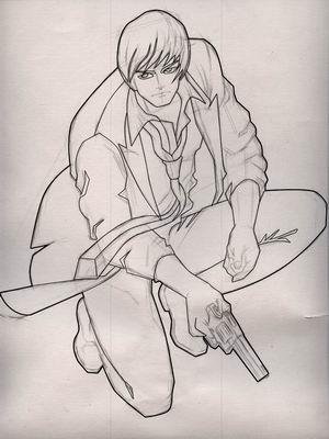 名侦探x游戏原画