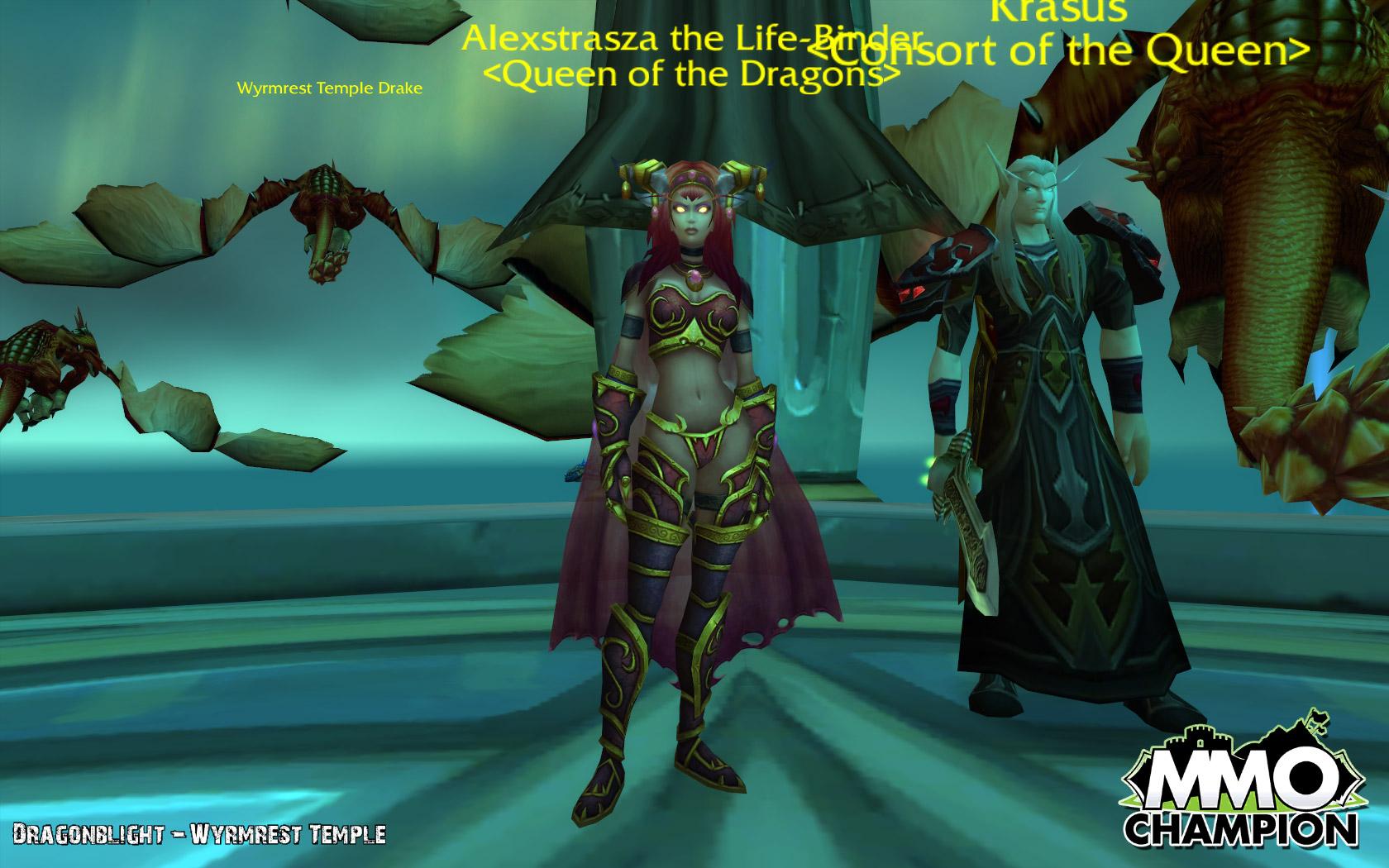 红龙女王阿莱克斯塔萨(人型形态)
